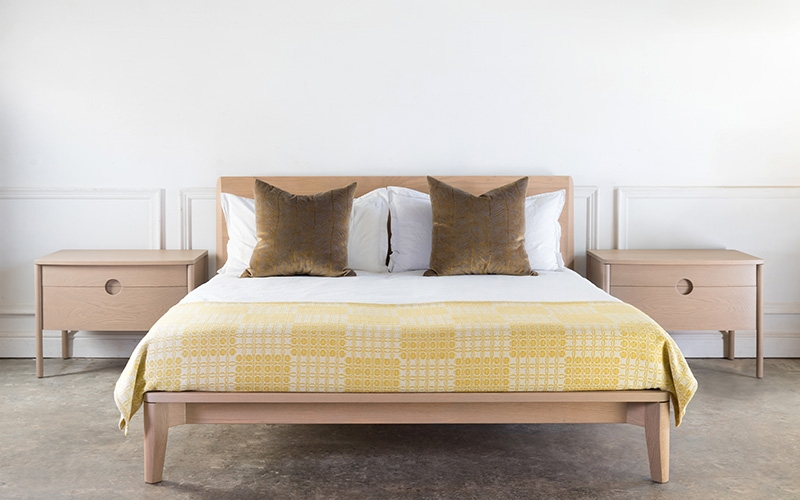 Granada Upholstered Bed by Troscan Design & Furnishings