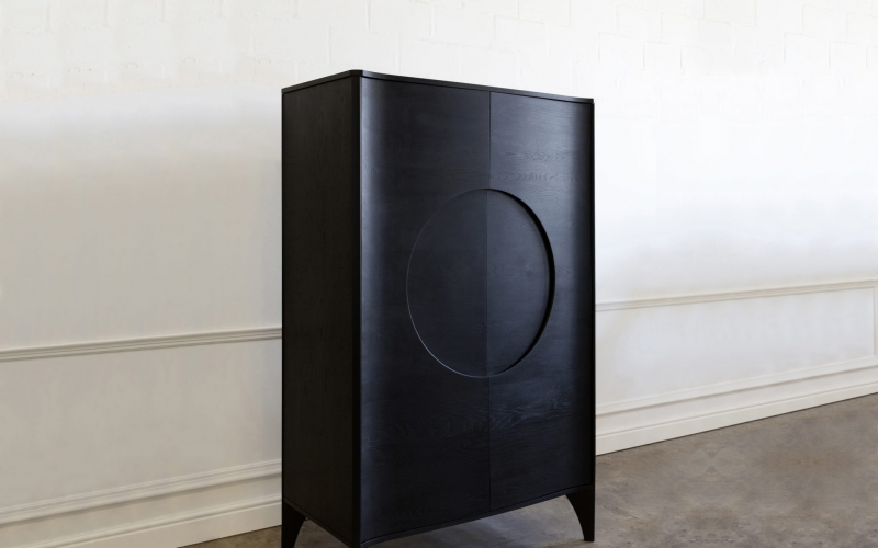 Hugo Cabinet by Hubbard Design Group