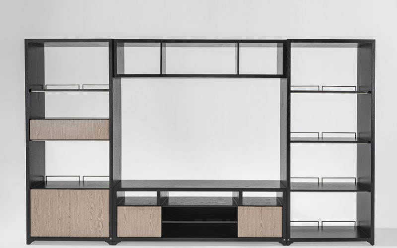 Ten Bookcase 100 by Adriana Hoyos Furnishings