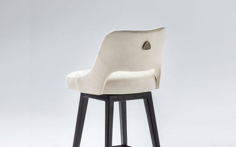 Sabine Bar Stool by Troscan Design & Furnishings