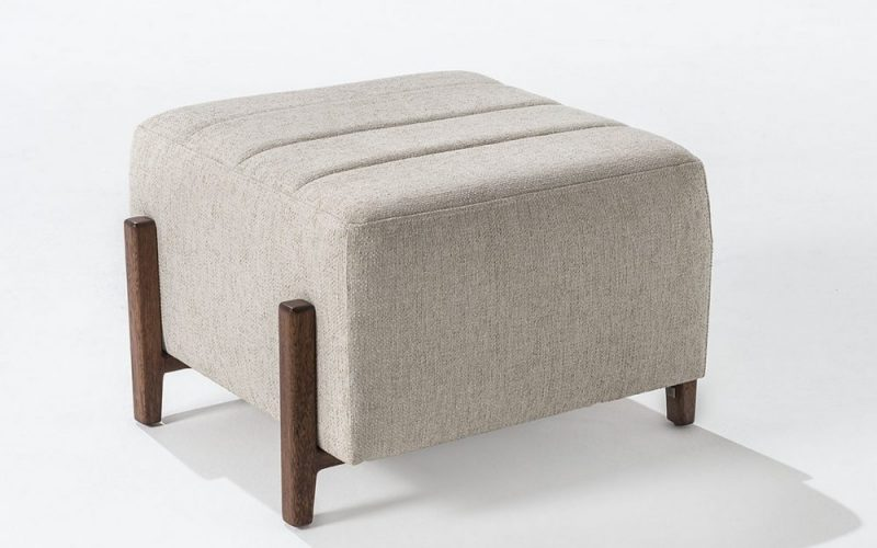 Granada Flat Ottoman by Troscan Design & Furnishings