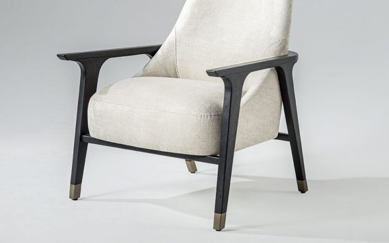 Ten Upholstered Chair 200 by Adriana Hoyos Furnishings