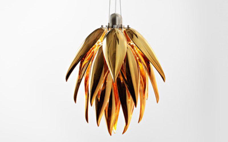 Aloe Bud Noir Sconce by Jeremy Cole