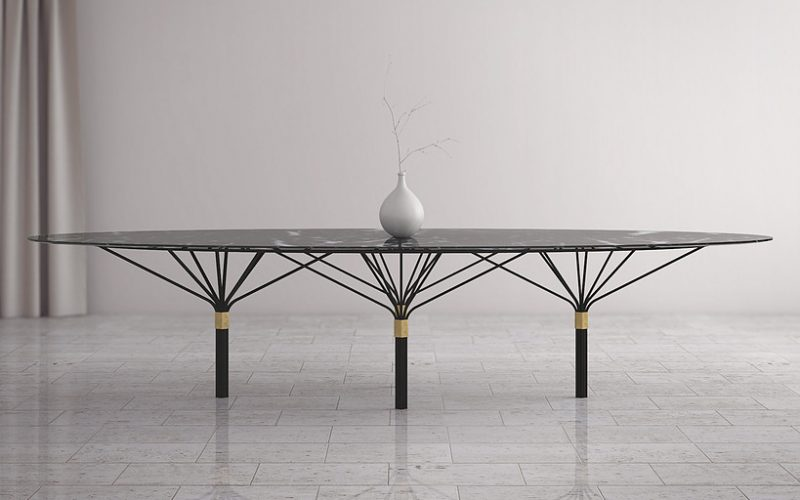 Aranha Console Table by Hubbard Design Group