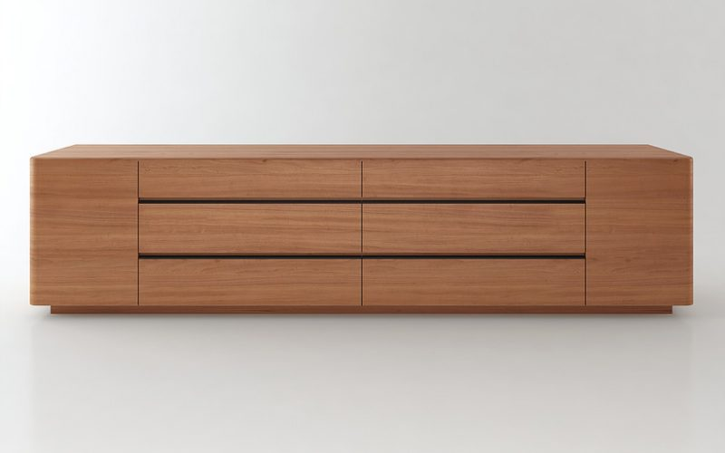 Alto Low Cabinet by Hubbard Design Group