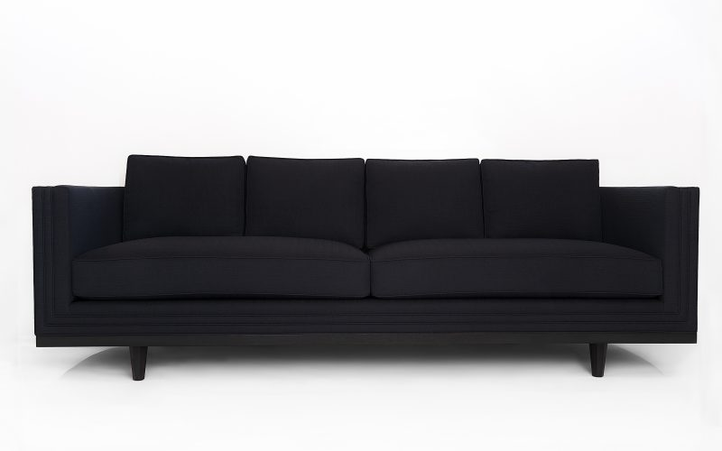 Grafito Loveseat 100 by Adriana Hoyos Furnishings