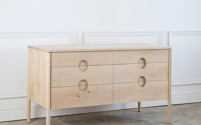 Franc chest of drawers by Andrew Dominic