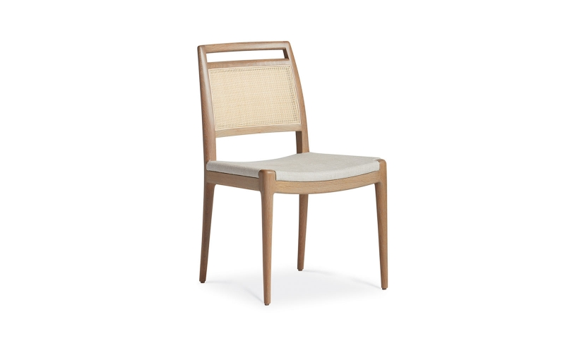 Alana Caned Arm Chair by Troscan Design & Furnishings