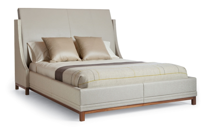 Africa Upholstered Bed 420 by Adriana Hoyos Furnishings