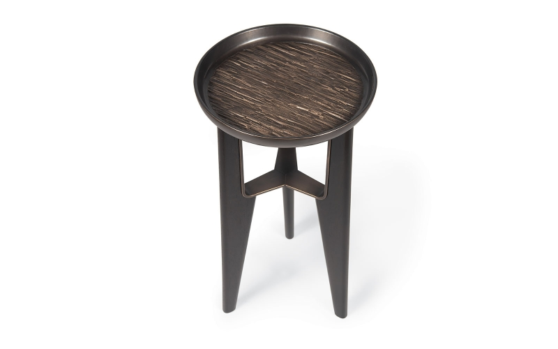Bolero End Table 100 by Adriana Hoyos Furnishings