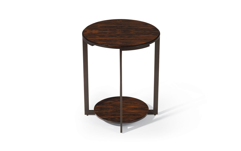 Caramelo End Table 701 by Adriana Hoyos Furnishings
