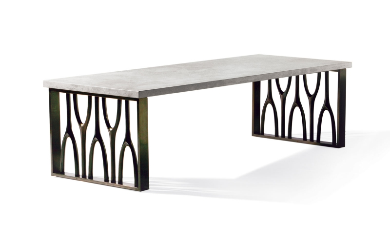 Africa Cocktail Table 470 by Adriana Hoyos Furnishings