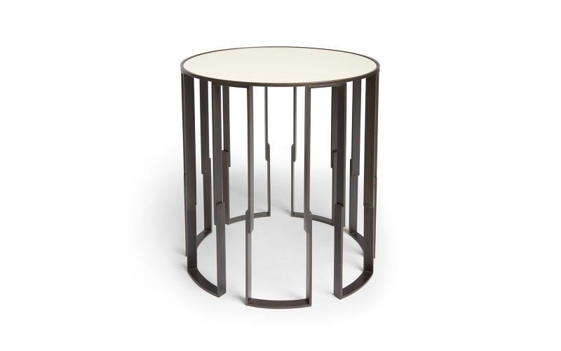 Cascade Side Table by Hubbard Design Group