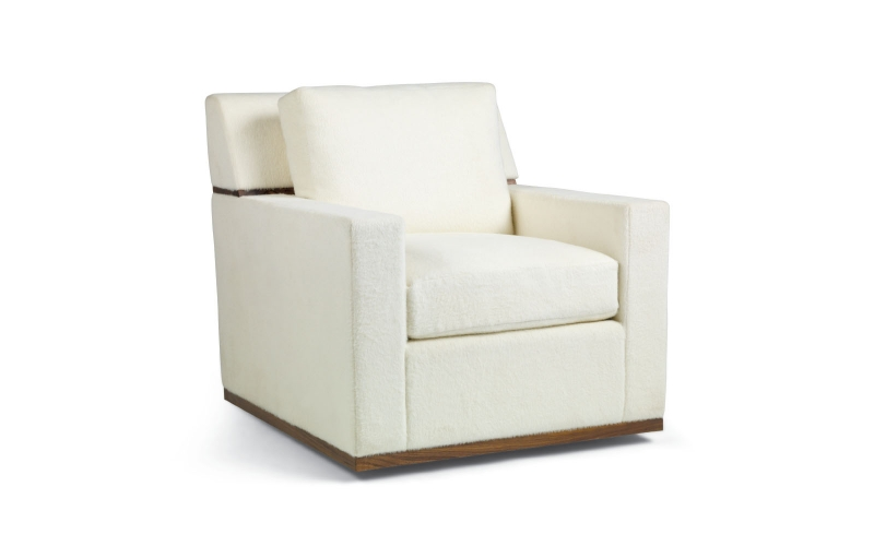 Fitz Lounge Chair & Ottoman by Troscan Design & Furnishings
