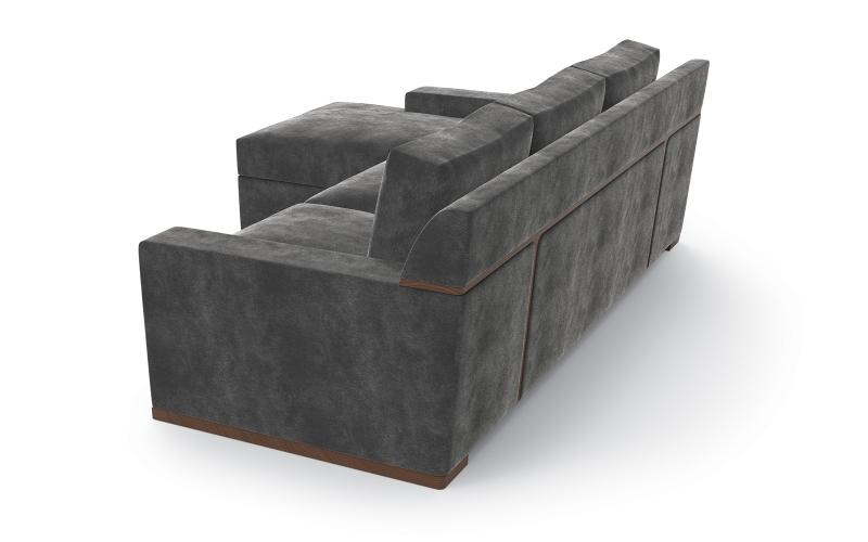 Chocolate Sofa 100 by Adriana Hoyos Furnishings