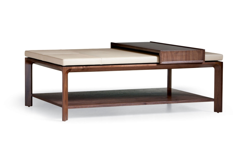 Granada Channeled Ottoman by Troscan Design & Furnishings