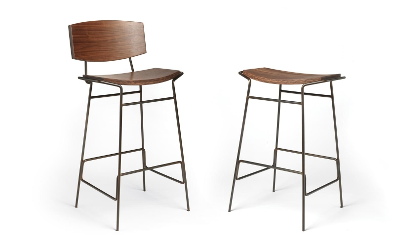 Draper Barstools by Andrew Dominic