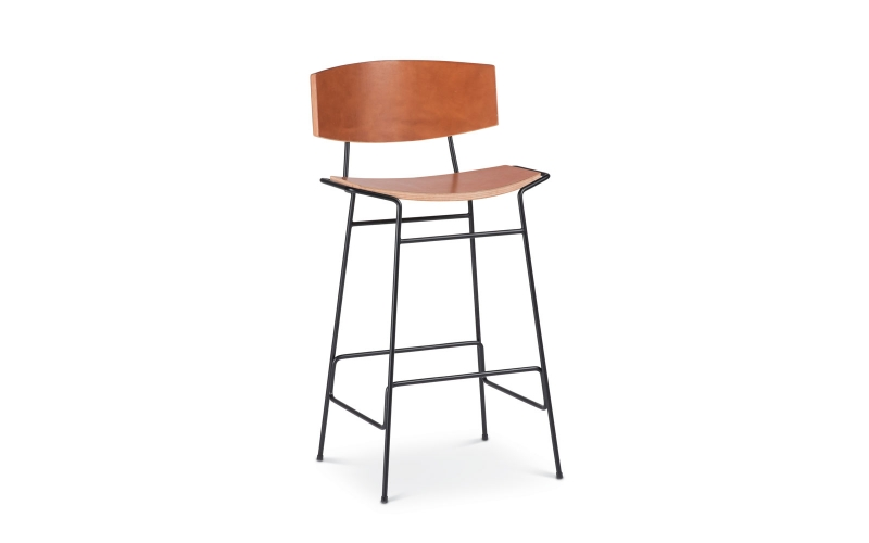 Kava Bar Stool by Troscan Design & Furnishings