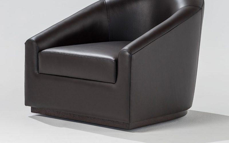 Bolero Upholstered Chair 100 by Adriana Hoyos Furnishings
