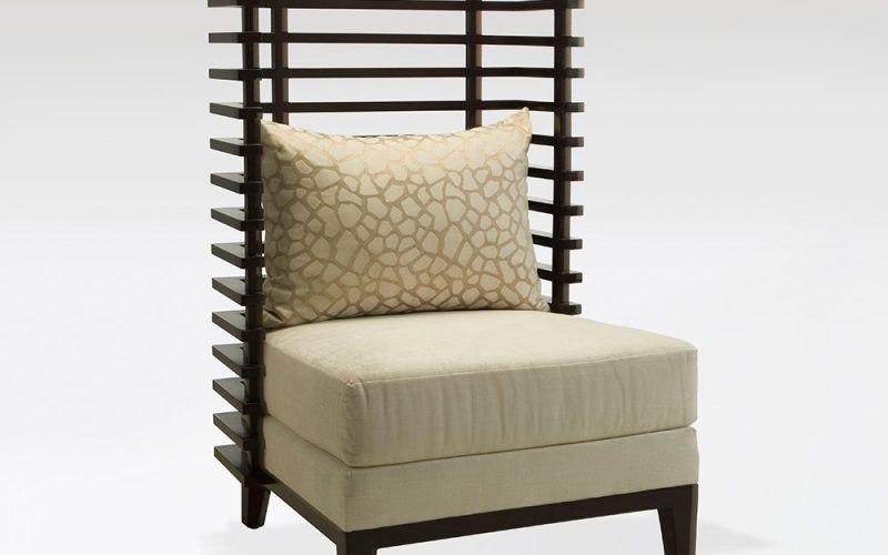 Café Upholstered Chair 420 by Adriana Hoyos Furnishings