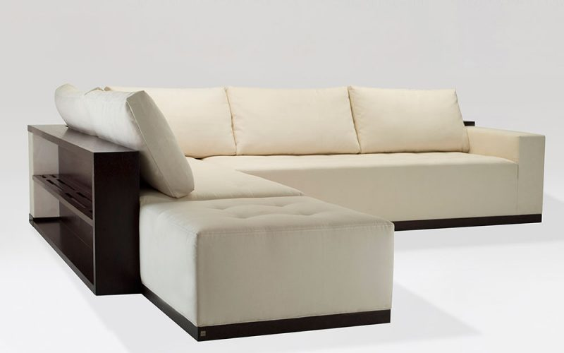 Caramelo Sectional 700 /710 by Adriana Hoyos Furnishings