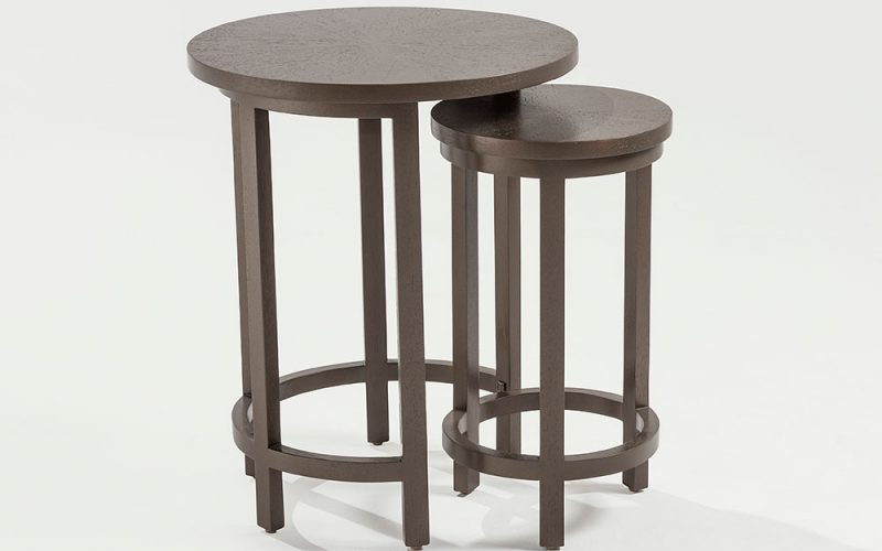 Café Hall Table 400 by Adriana Hoyos Furnishings